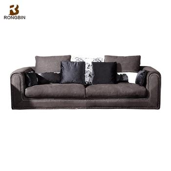 Latest 2017 New Design Modern 3 2 1 Sofa High Back Corner Set Living Room Furniture