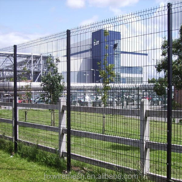 Black Welded Wire Fence Mesh Panel, Black Welded Wire Fence Mesh ...