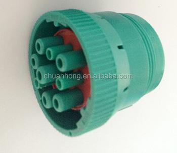 Deutsche 9 Pin Round Connector J1708 Obd2 Plug Or Wiring Harness De on