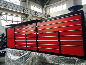 Largest Heavy Duty Metal Tool Box Roller Tool Workbench