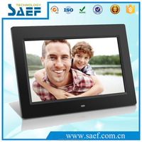 Top selling 10.1 inch desk calendar digital photo frame 1024*600 with remote control