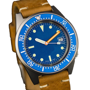 OEM 20ATM With Date Brushed Bronze Diving Watch For Men