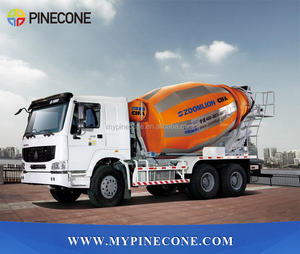 Hot! Zoomlion Used concrete truck mixer with HINO Chassis for sale