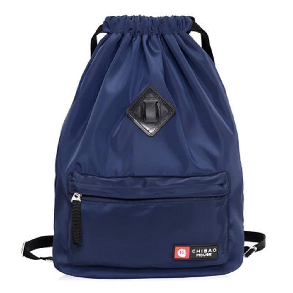 7090382bc20b Get Quotations · Kangkang Easy draw string bag travel backpack waterproof  nylon female portable backpack pocket beam sundry receive