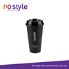 reusable plastic polypropylene coffee cups takeaway coffee cups with lid
