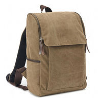 hot sell NEW STYLE large size canvas leisure backpack