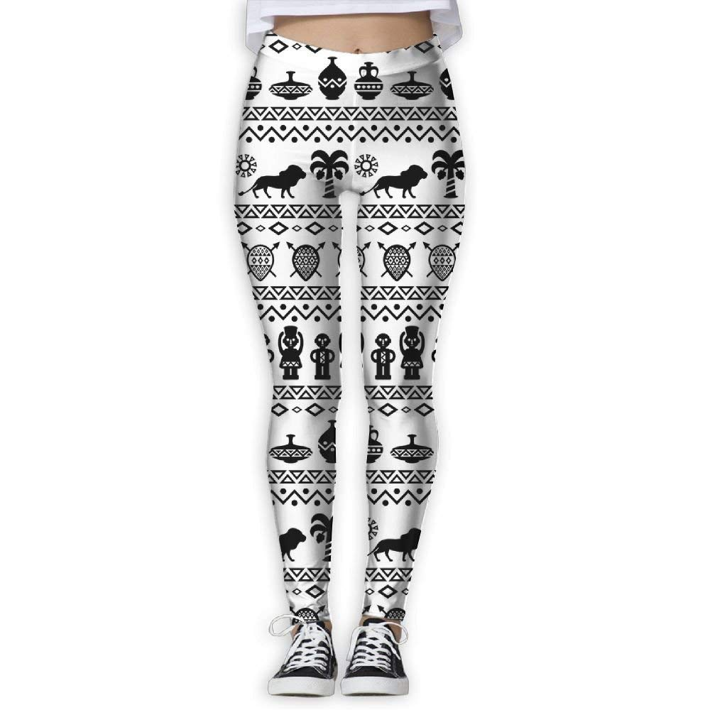 38c1278c6be2ef Ninena Chy African Traditional Womens Stretchy Yoga Leggings Patterned  Workout Leggings Jogger Pants For Gym Home
