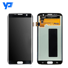 Golden supplier for Samsung Galaxy S7 Edge LCD display, LCD screen for Samsung Galaxy S7 Edge phone unlocked