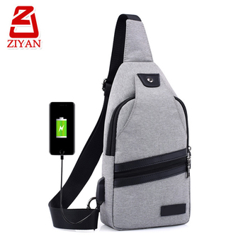 435039f465e Hot popular anti theft back pocket crossbody backpack magnetic snap button leisure  men sling chest bag