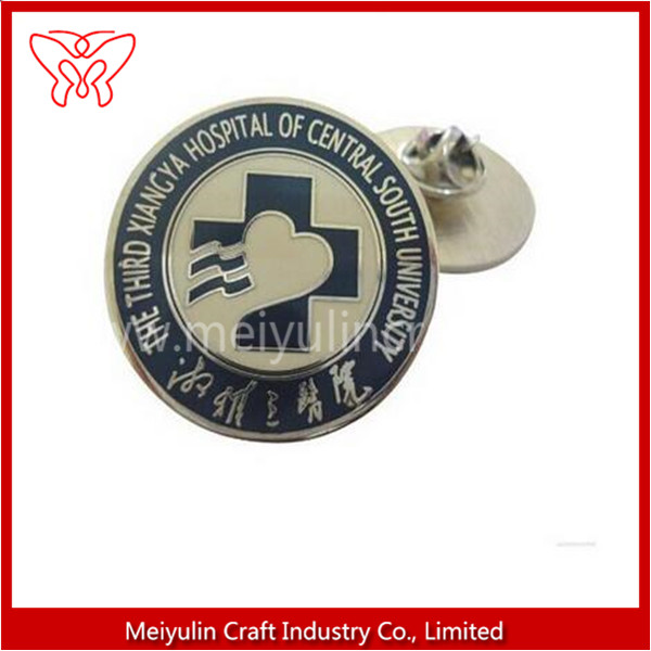 Factory lapel pins badge 925 silver For Ladies