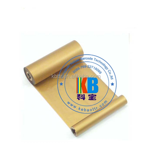 Factory selling printable foil large length ribbon hot foil ribbon