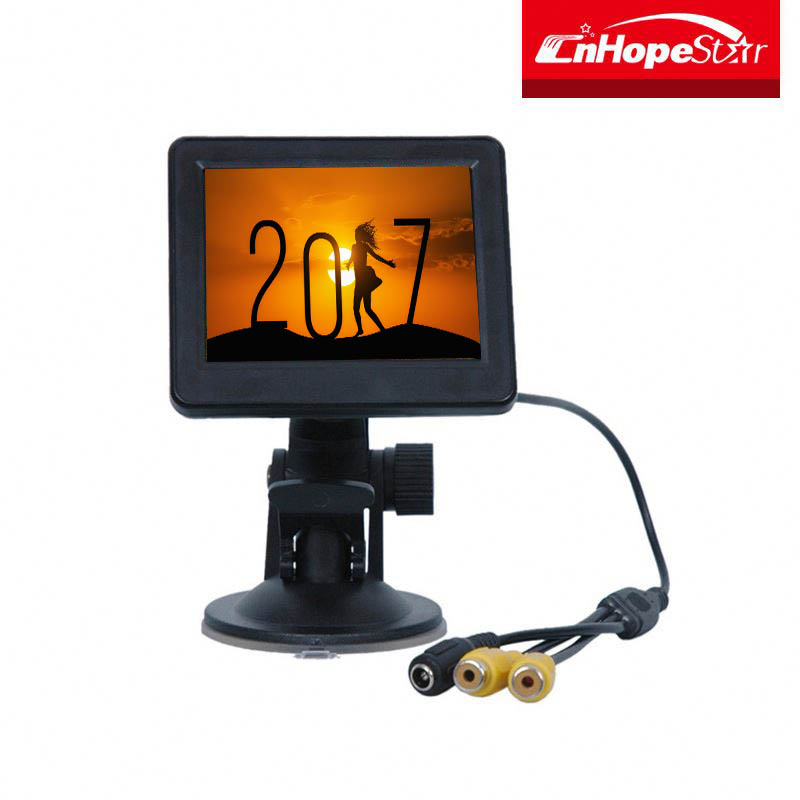 2017 TOP SALE ABS casing cctv test monitor 3.5 inch