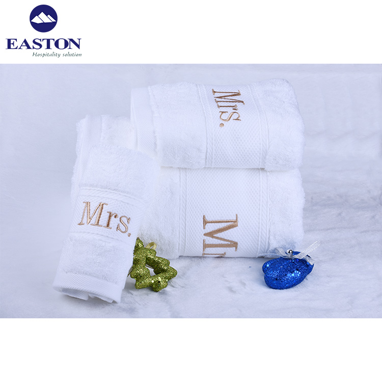 Top Kwaliteit Egyptisch Katoen Dobby Dikke En Grote Hotel Bad Handdoek Voor Vijf Sterren, luxe 100% Katoen Badhanddoek Set Voor Hotel