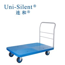 Hot Sale Plastic Platform Hand Trolly