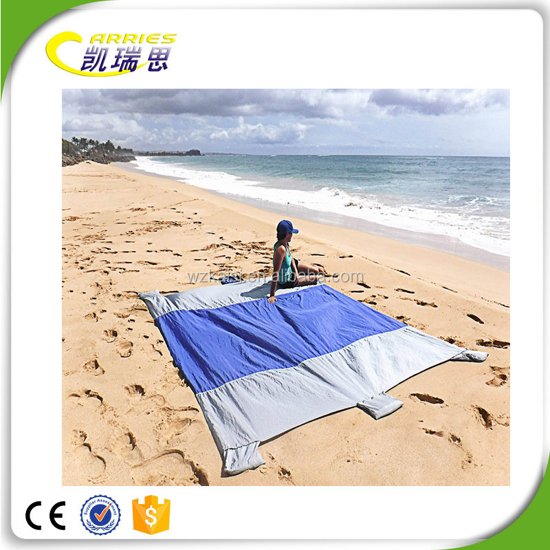 KS China Manufacture Heavy Duty Perfect Lightweight Beach Blanket Sand Free