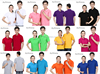 Wholesale custom logo shirt/ mulit color blank polo t-shirts