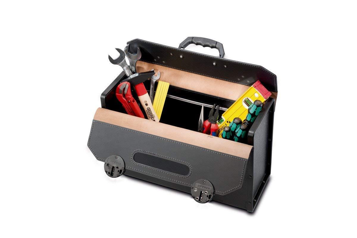 """Parat 57000571 Tool Bag """"Top-Line Individual"""" In Black/Brown"""