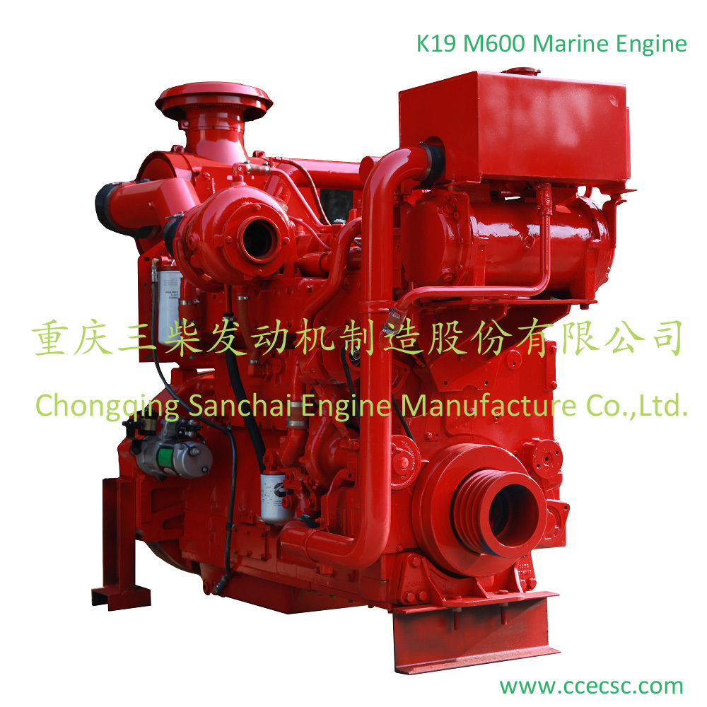 K19 M525 Ship Engine With Four Stroke For Sell - Buy M600 ...