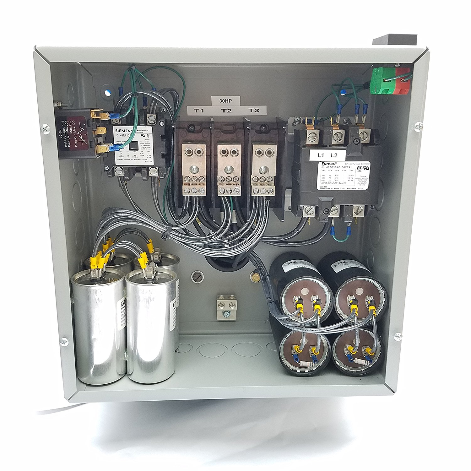 75hp 3 Phase Rotary Converter Panel