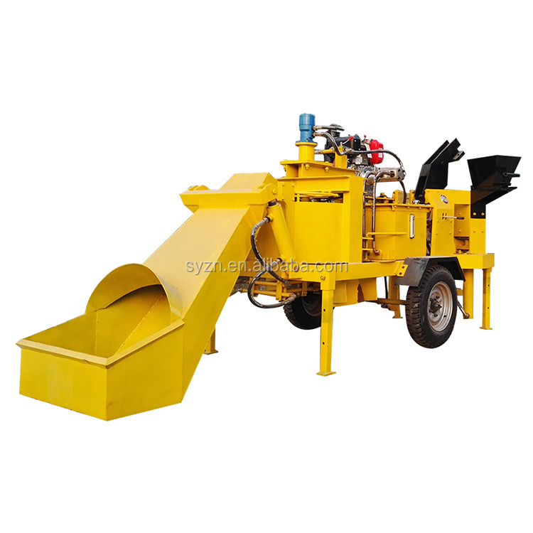 M7MI twin solid block making machine interlock clay brick making machine