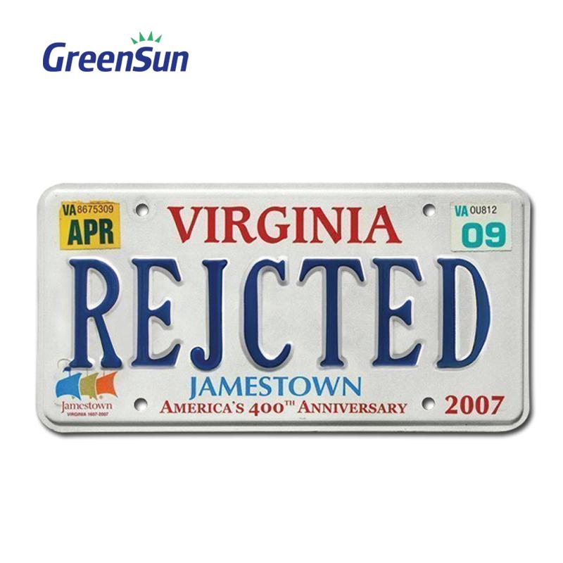 Souvenir License Plate Manufacture, Souvenir License Plate ...