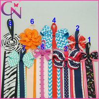 Wholesale Handmade Boutique Infant Hair Accessories Hair Bow Holder Supplies For Girls (CNHBH-140726)