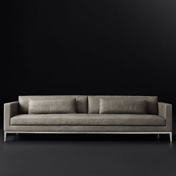 L Shaped Leather Sofa, L Shaped Leather Sofa Suppliers And Manufacturers At  Alibaba.com