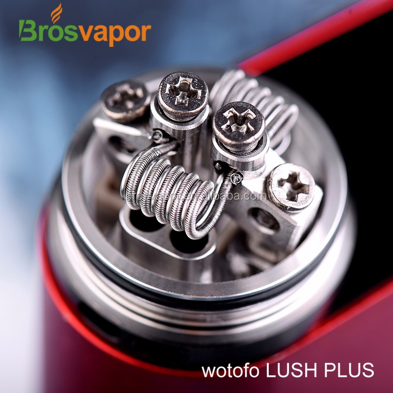 100% Original Wotofo Lush Plus Split Two Post RDA from brosvpaor