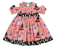 new style kids frock designs pictures private label child clothing fashion baby girl dress