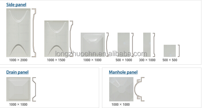 Used Smc/frp/grp Sectional Plastic Storage Water Tank Of 100000 ...