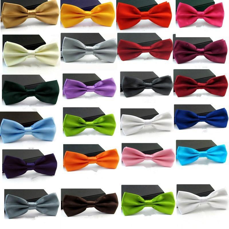 572d100236bf8 Formel commerciale noeud papillon homme couleur uni mariage noeud papillon  pour hommes couleur bonbon papillon cravate
