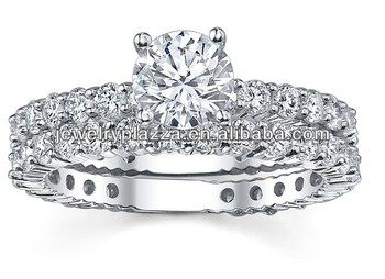 Mexican Wedding RingsSilver 925 Diamond Bridal Ring Set Buy