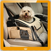 Portable Pet Booster Car Seat Carrier Bag