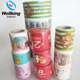 Custom Printed Packing Cartoon Washi Tape Printing Sticker Labels