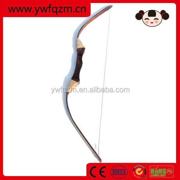 cheap professional wooden archery recurve bow