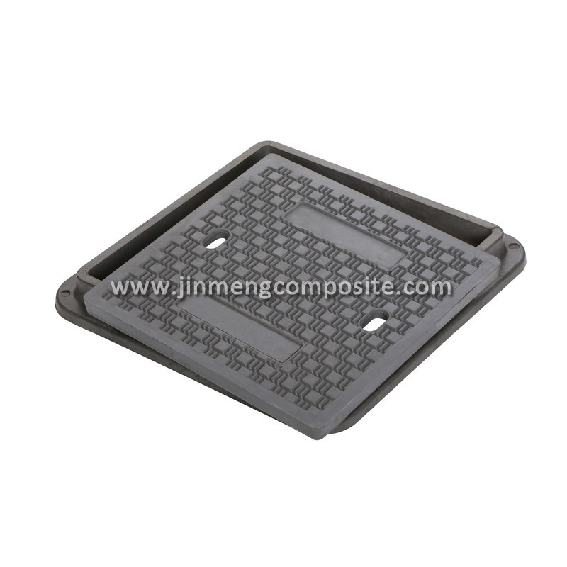 700mm outdoor drain covers valve manhole cover with hinge