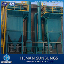 Hot cement dust extractor for cement industry