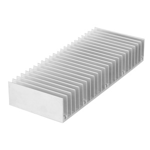 300Mm ~ 600Mm Width Aluminum Extrusion LED Heatsink for Equipment/Electronic/Server Cooling