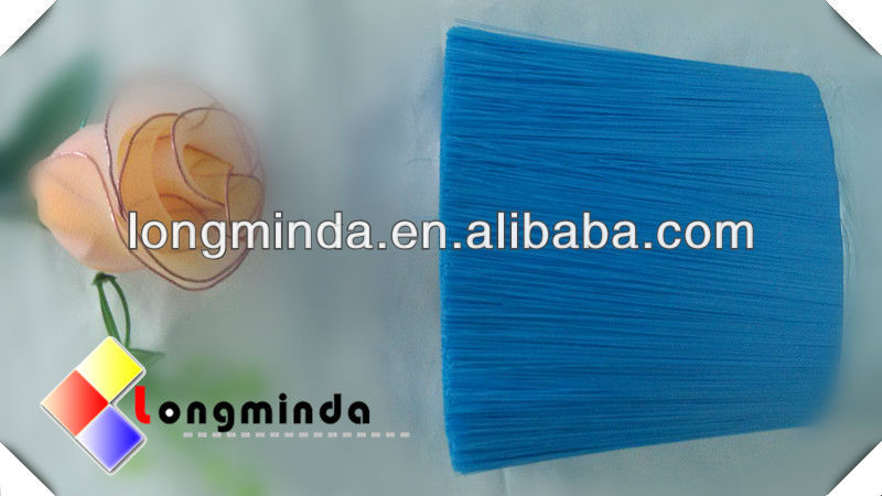 plastic sweeper fibers for dust broom and brush with metal broom handle