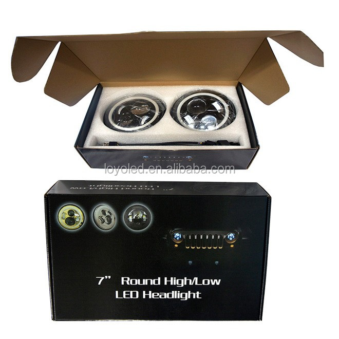 7'' Auto Led Headlight For Jeep 45w Ip67 Headlight For 7 Inch ...
