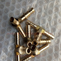 brass pipe fitting union tee