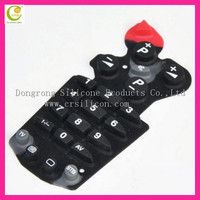 A variety of styles silicone keypads,custom made silicone button rubber keypad,silicone rubber keypads with silkscreen printing