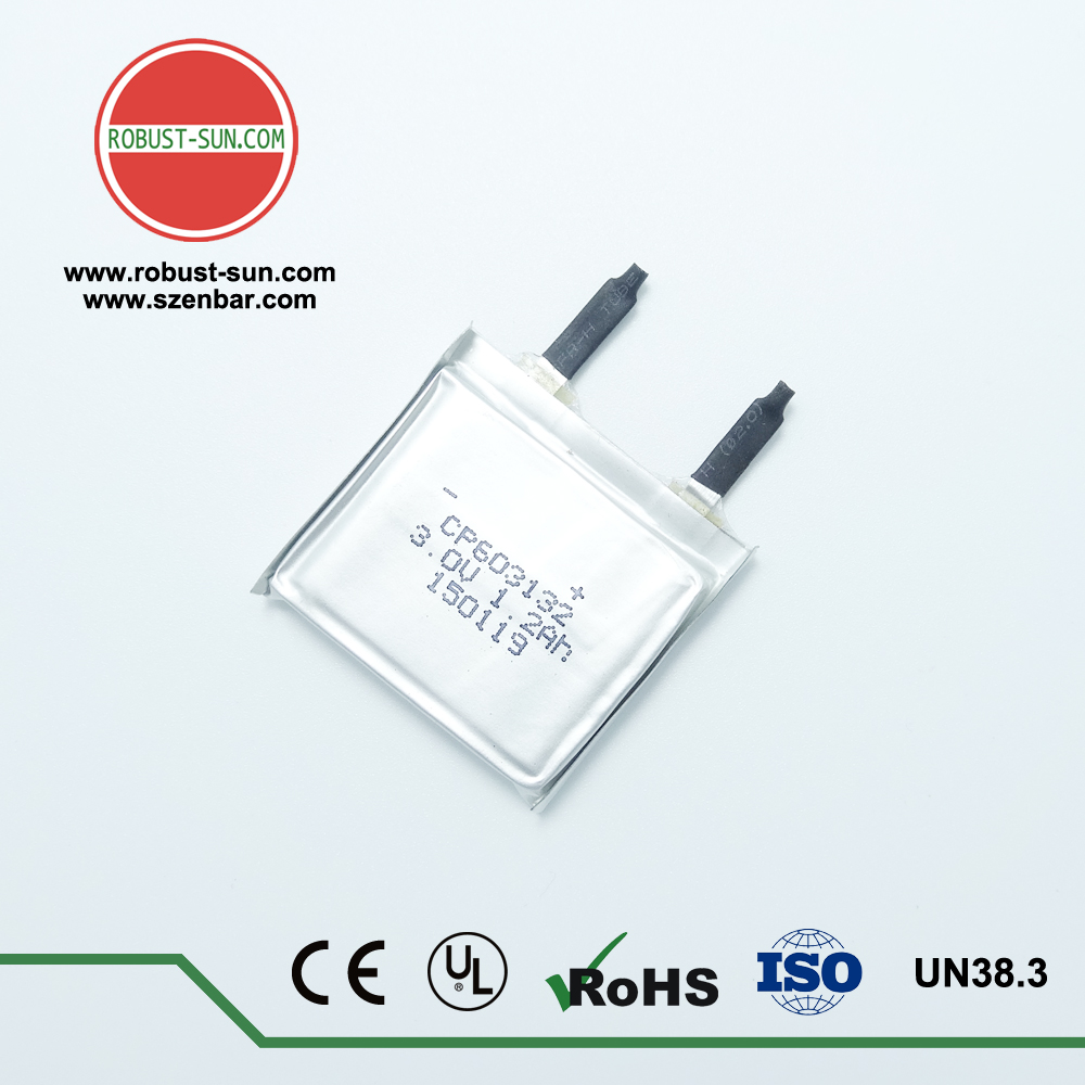Factory price CP603132 1200mAh for portable device