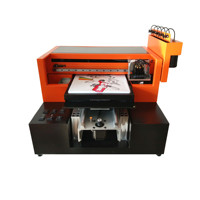 High quality of Digital textile cotton printing machine a3 8 colors dtg t shirt printer for sale