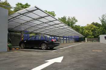 Polycarbonate Car Parking Shed Pc Sheet Buy Car Parking