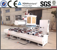5 Axis Wood MDF CNC Machining Center for Production of Furniture, Doors, Windows
