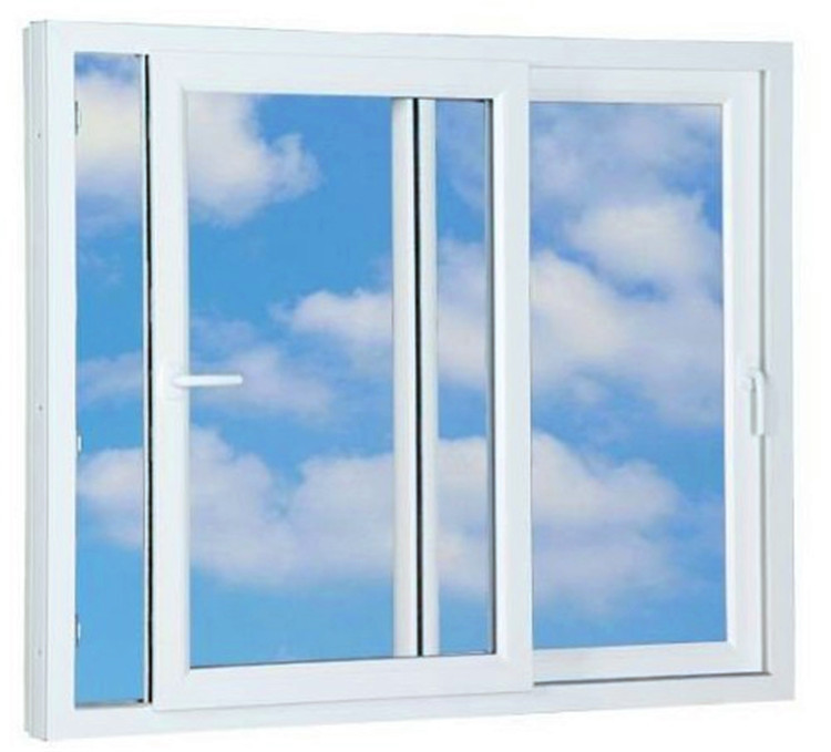 High quality insulation plastic frame upvc window buy for High insulation windows