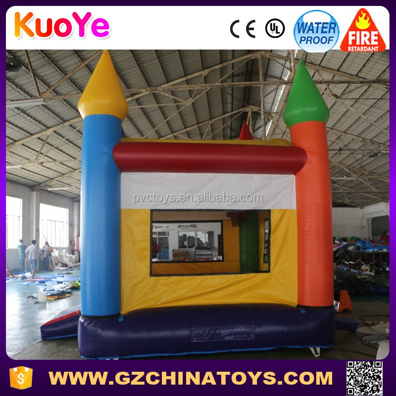 2017 guangzhou hotsale much fun commercial grade cheap used double to quadruple inflatable bouncer