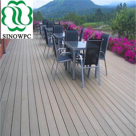 wholesale outdoor wpc hollow flooring, wpc flooring good price