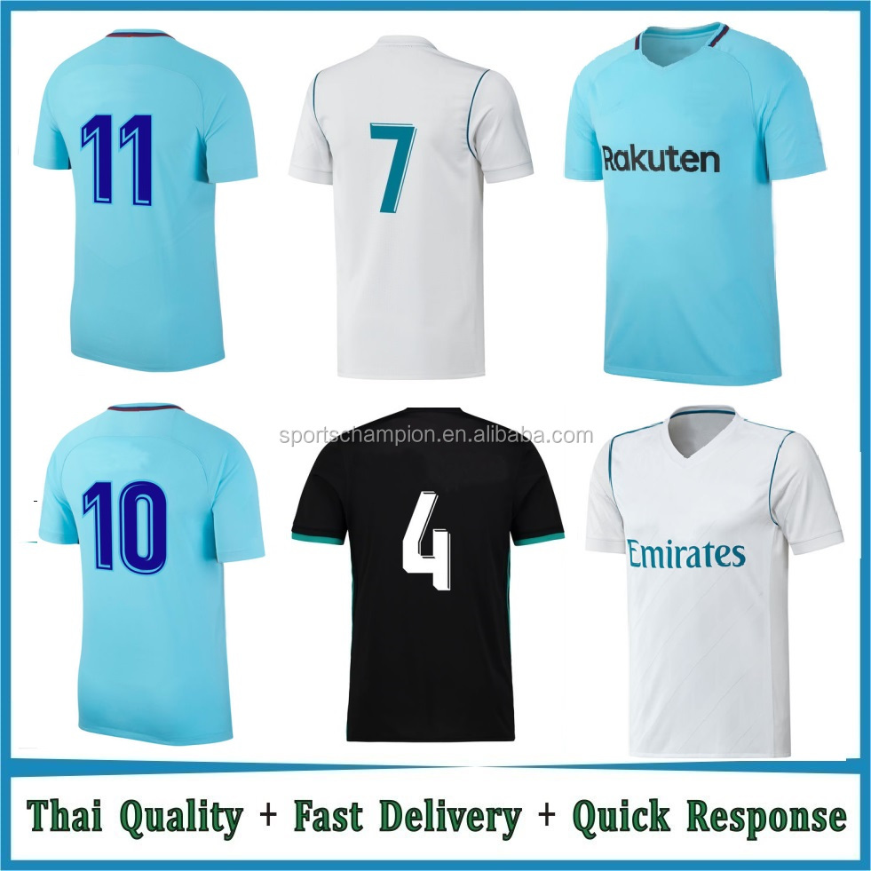 Custom Made Cheap Soccer Jersey Uniforms Best Thai Quality soccer uniform